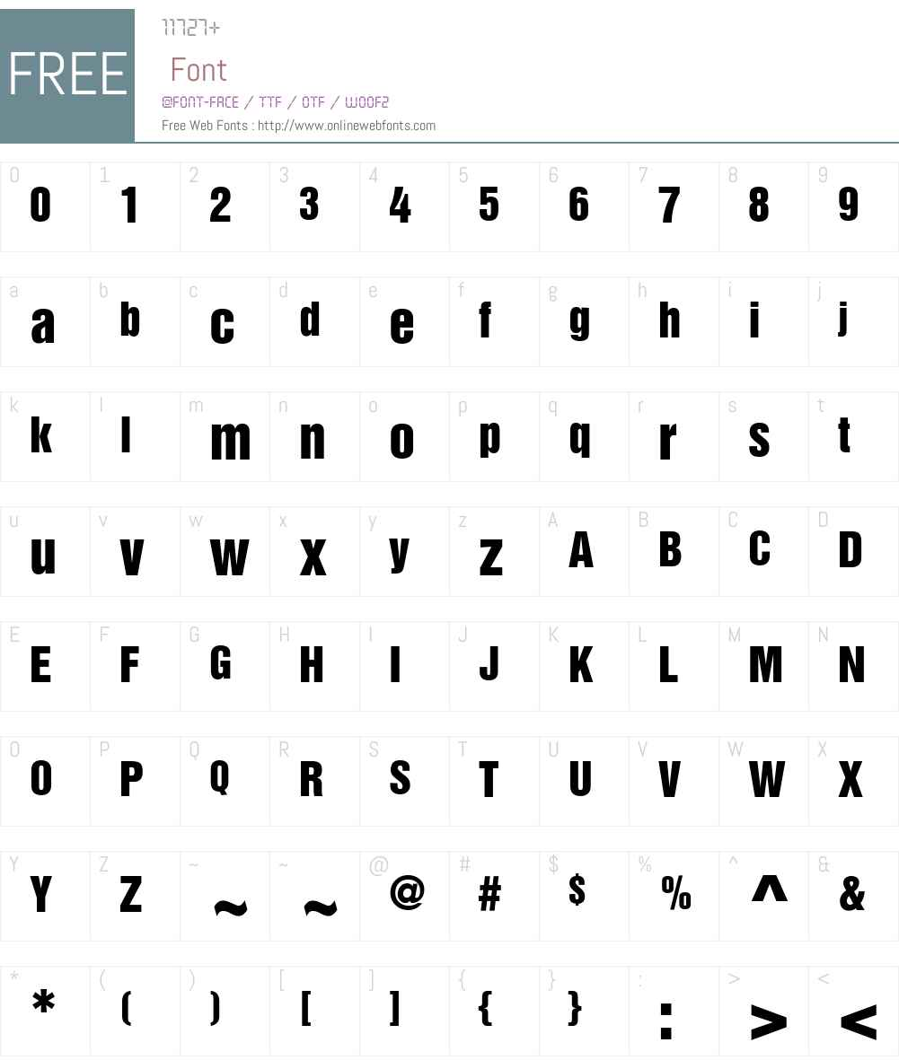 HelveticaInserat LT Font Screenshots