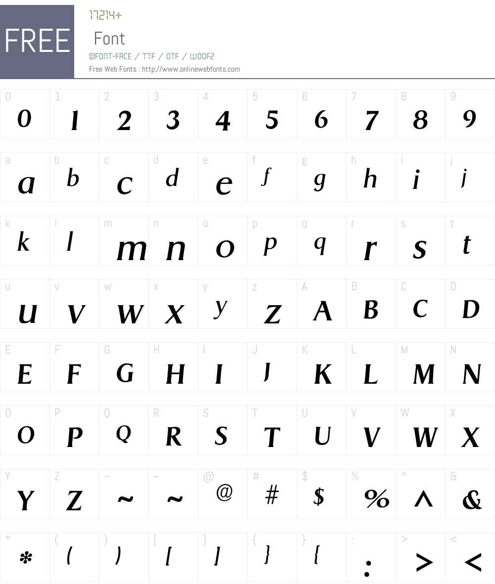 Idragon Font Screenshots