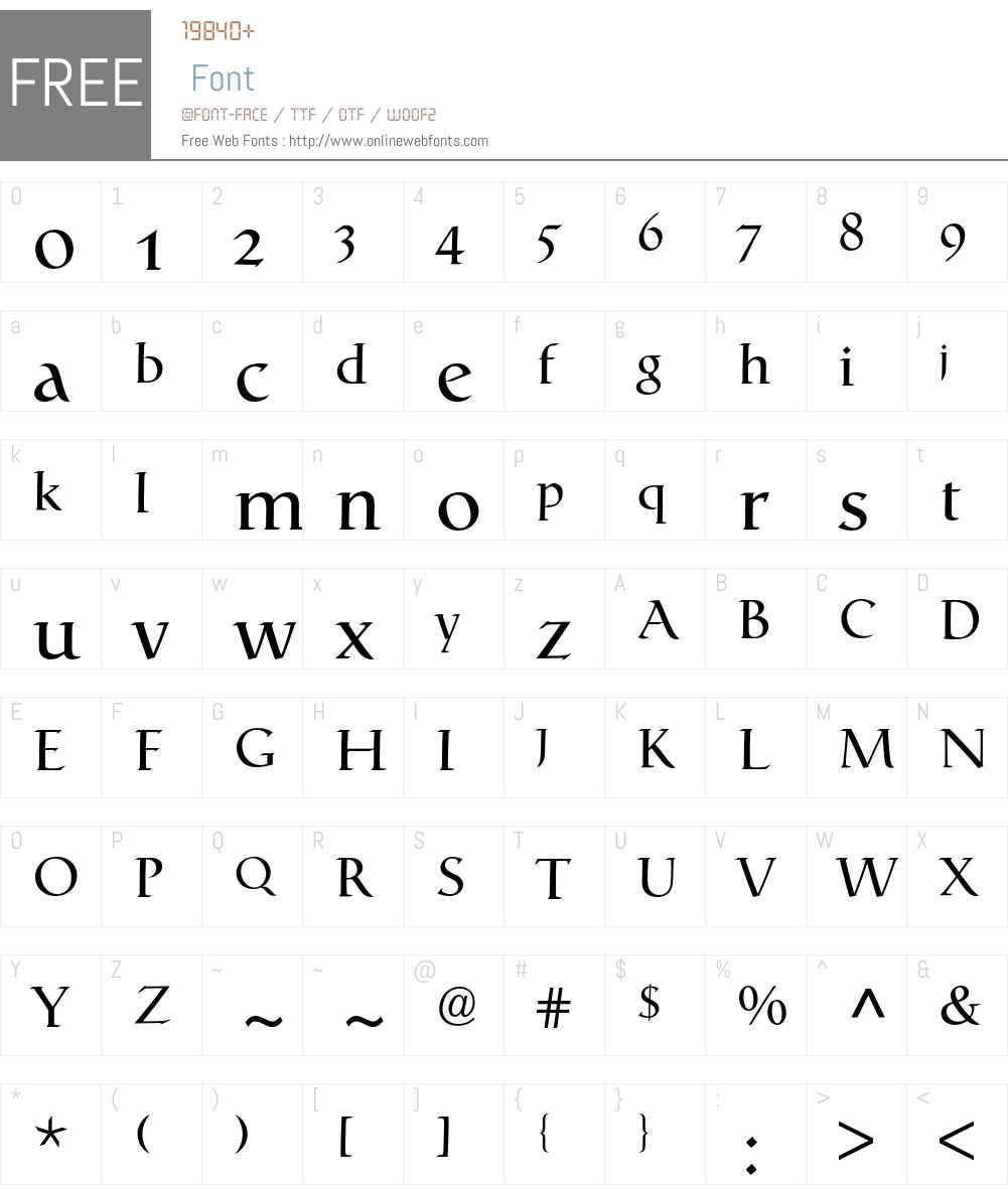 Catull Expert BQ Font Screenshots