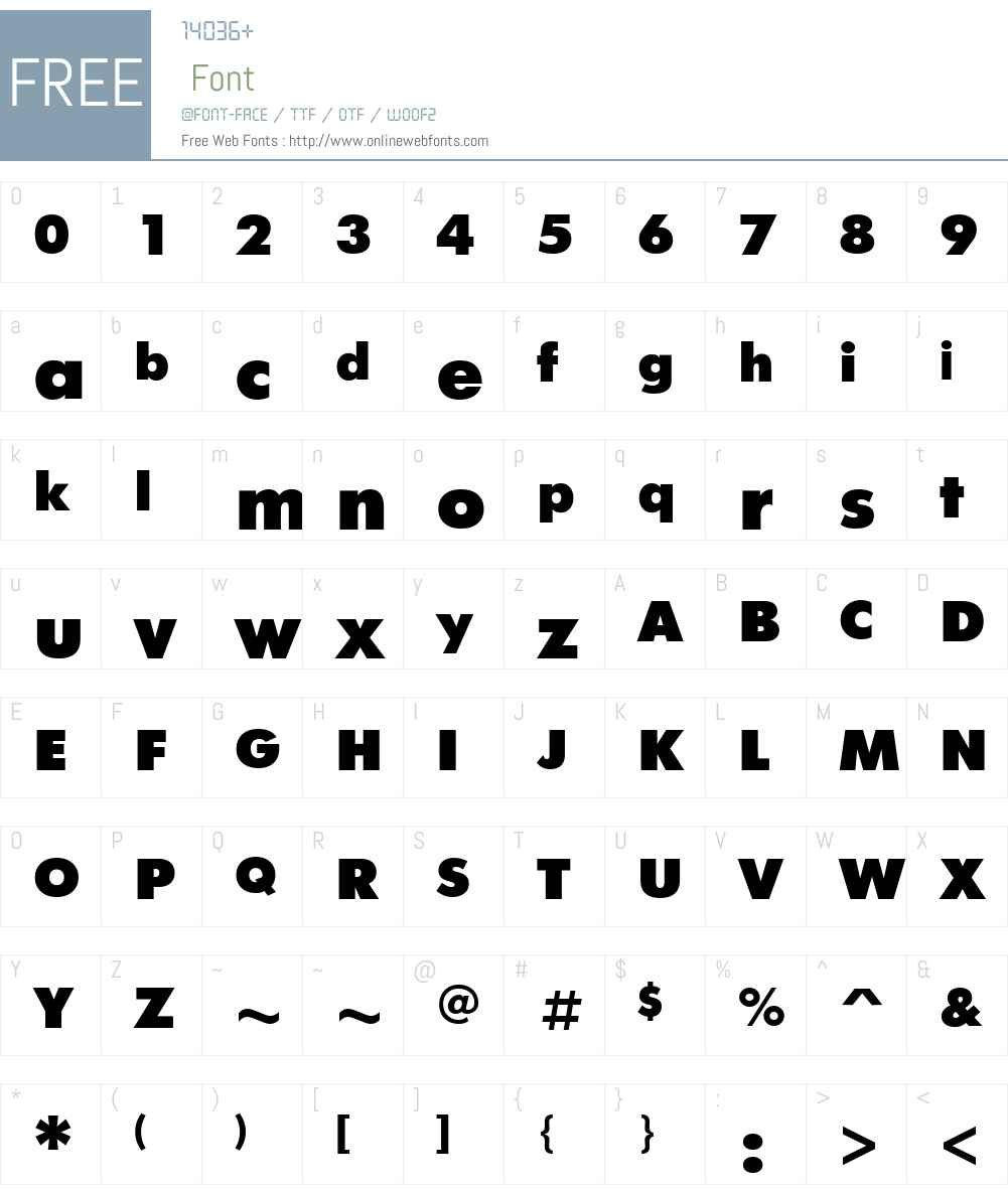 FuturisExtra Font Screenshots