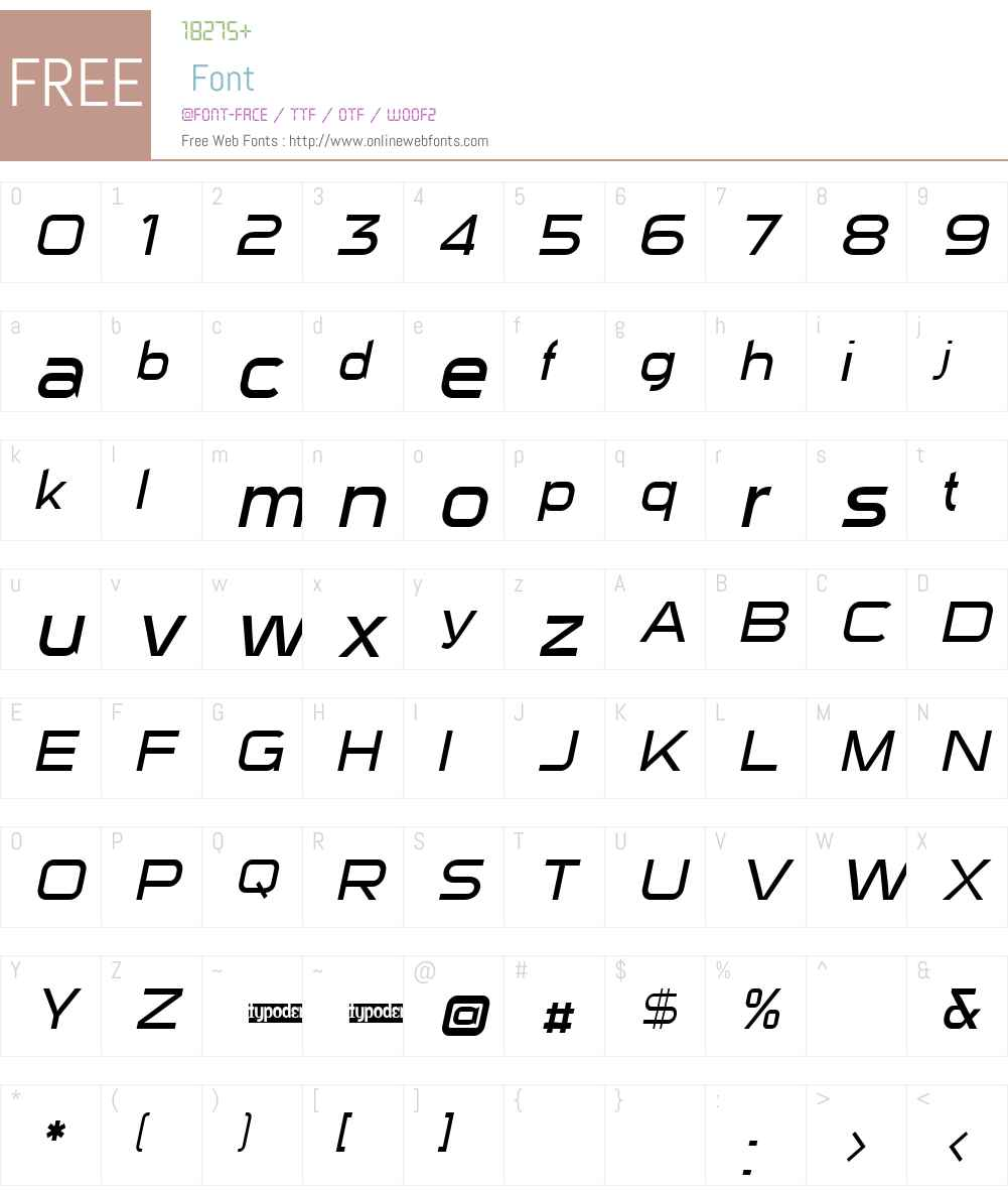 Sui Generis Light Font Screenshots