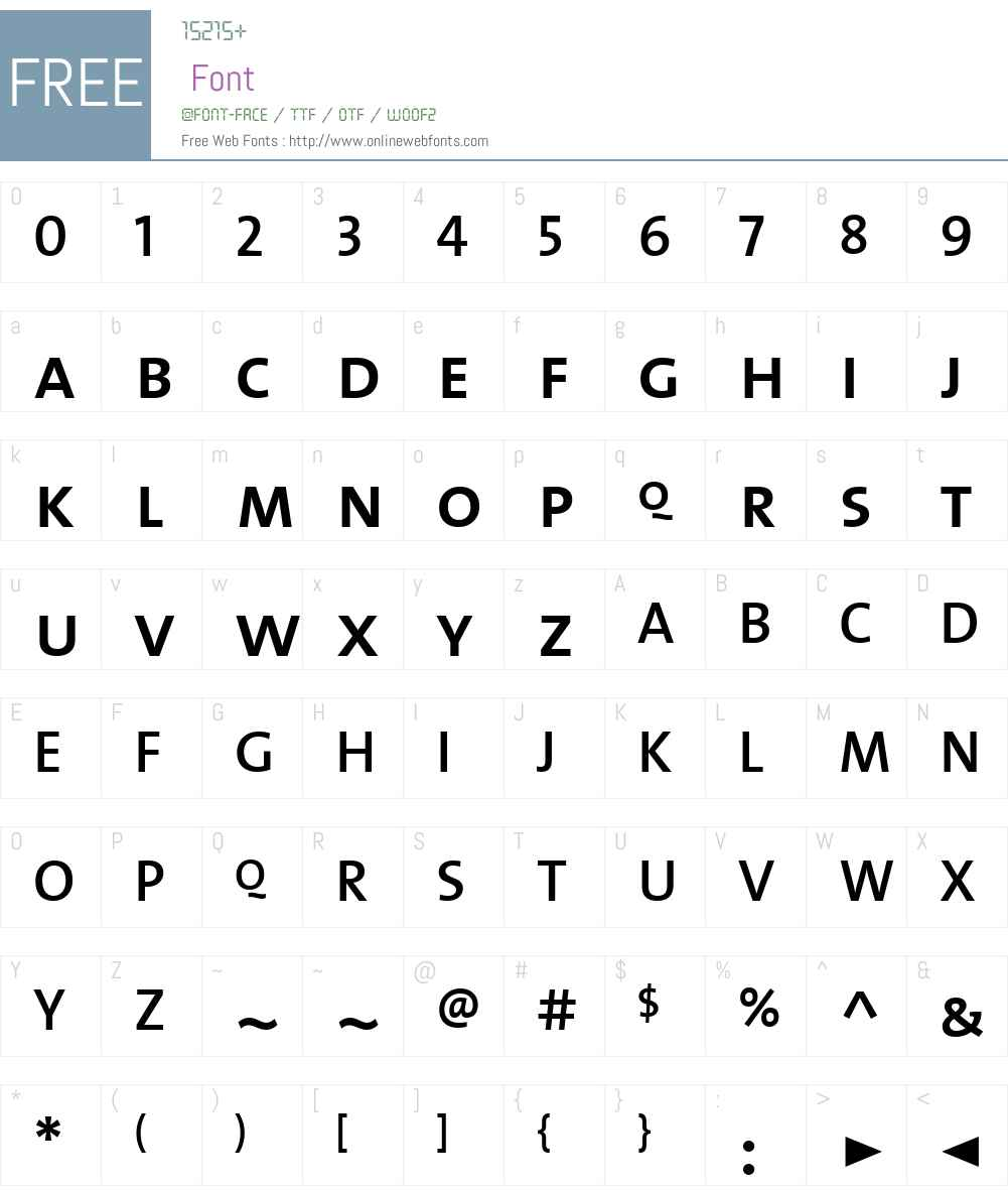 TheMixSemiBold Font Screenshots