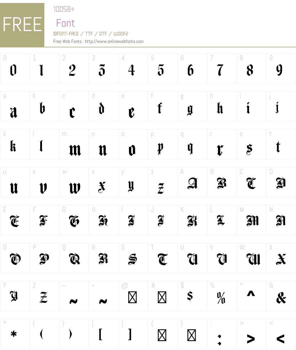 Agincourt Std Font Screenshots