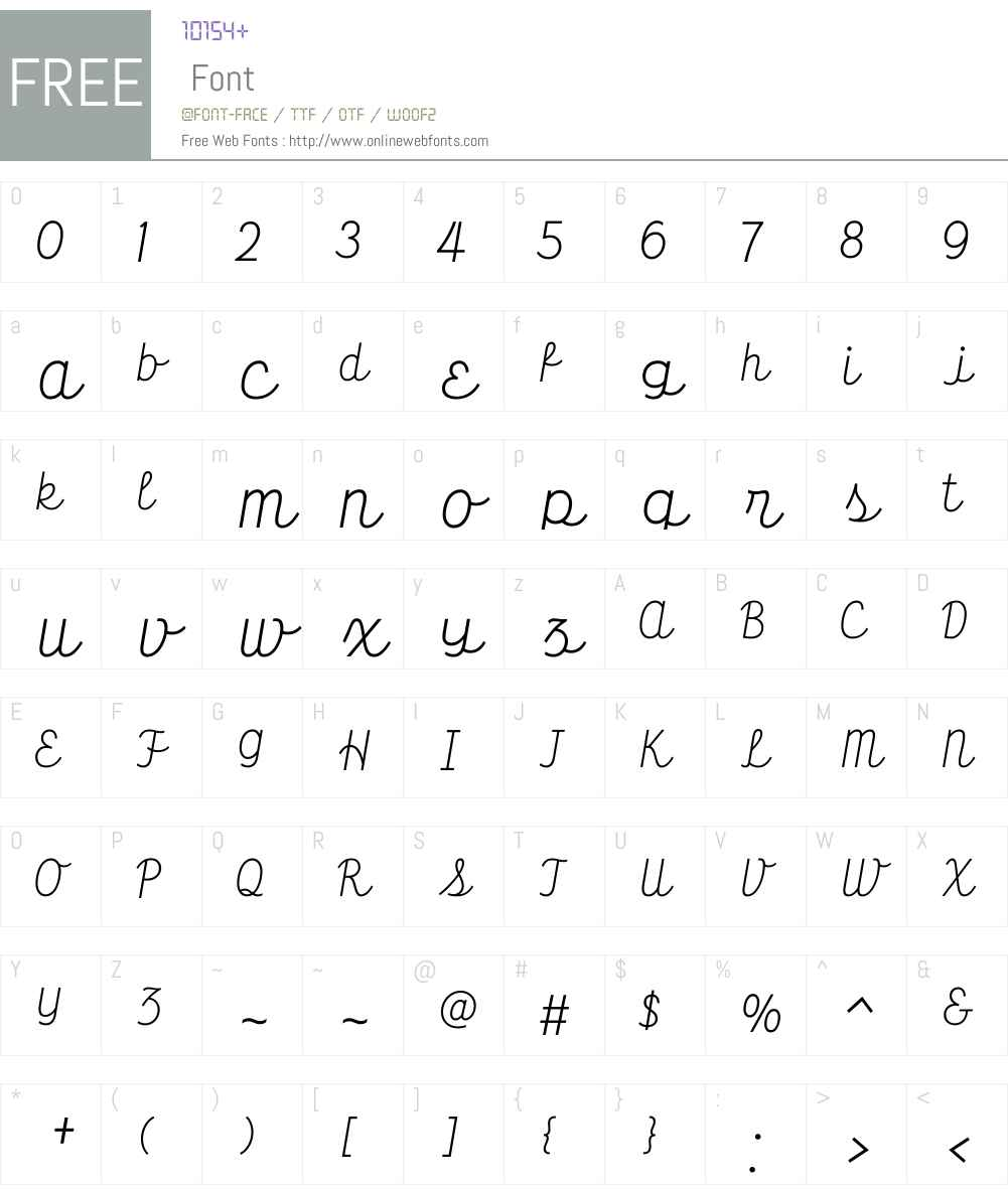 HT Farmacia Font Screenshots