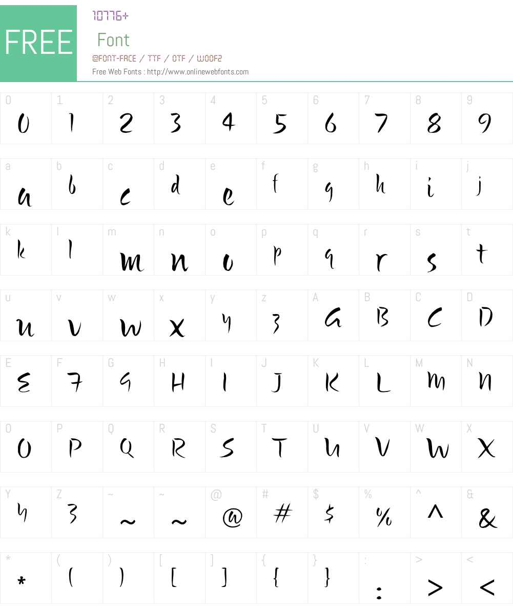 Bette ITC Std Font Screenshots