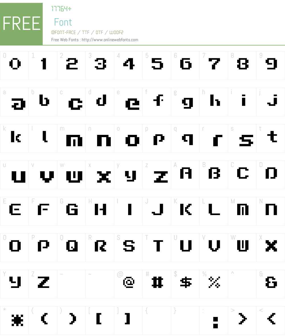 Liquid Kidz Font Screenshots