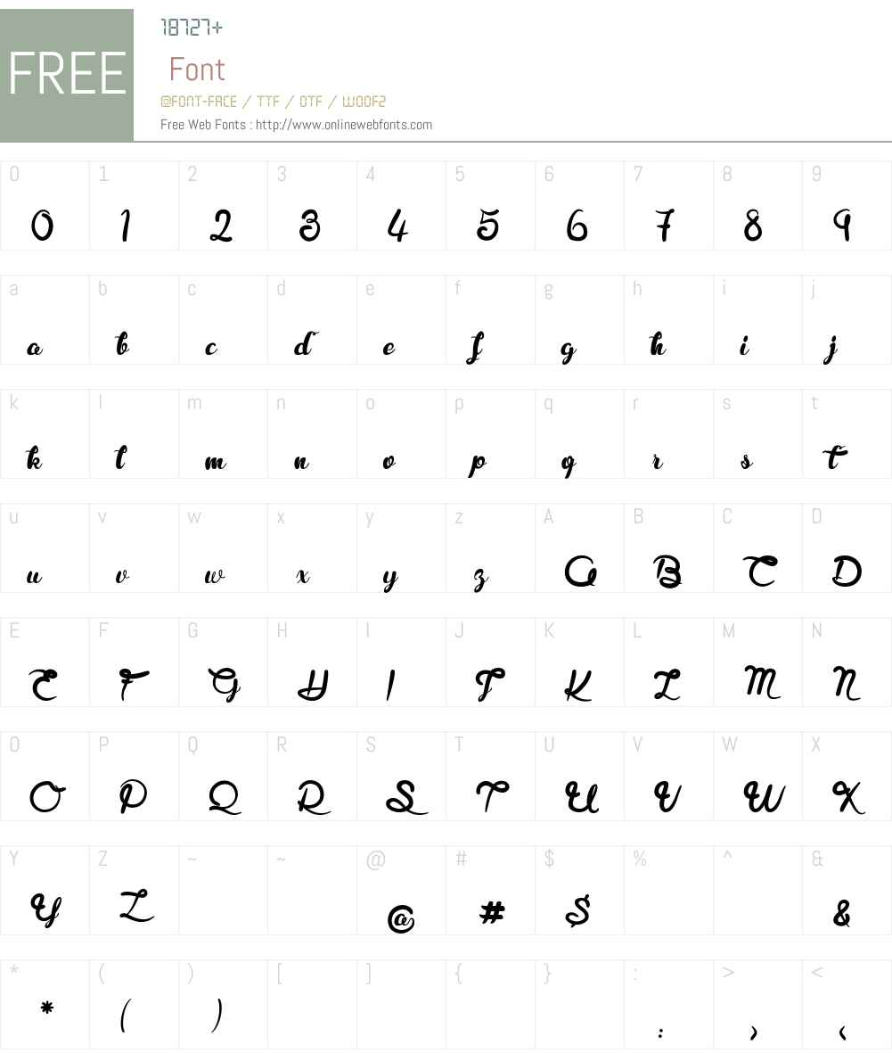 Royal Chicken Font Screenshots