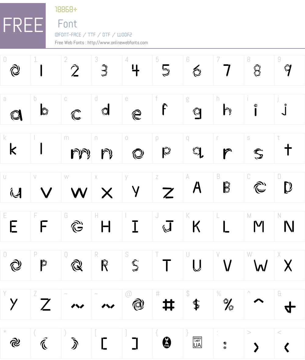Today Font Screenshots