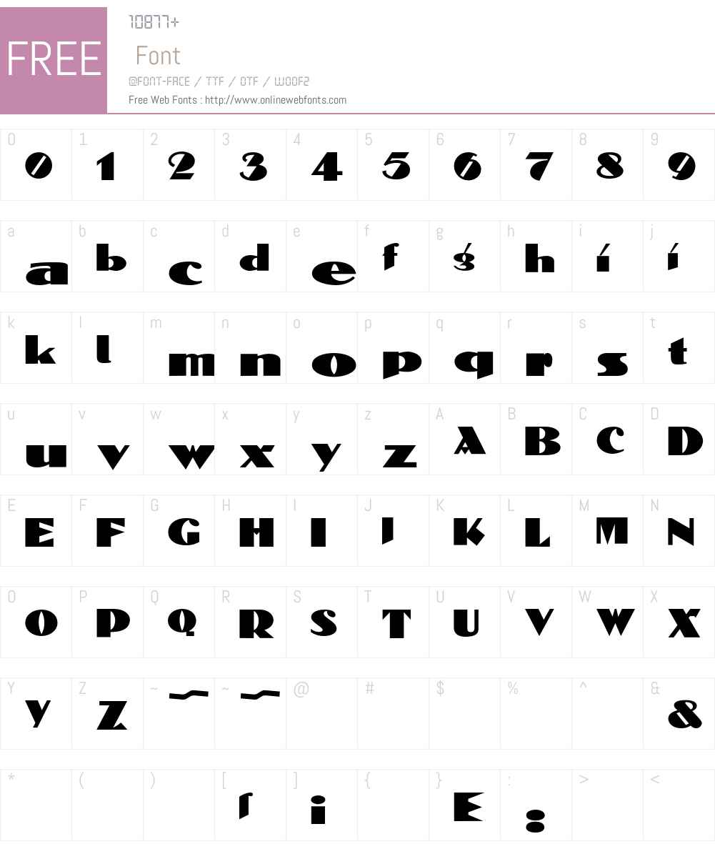 Belmondo Font Screenshots