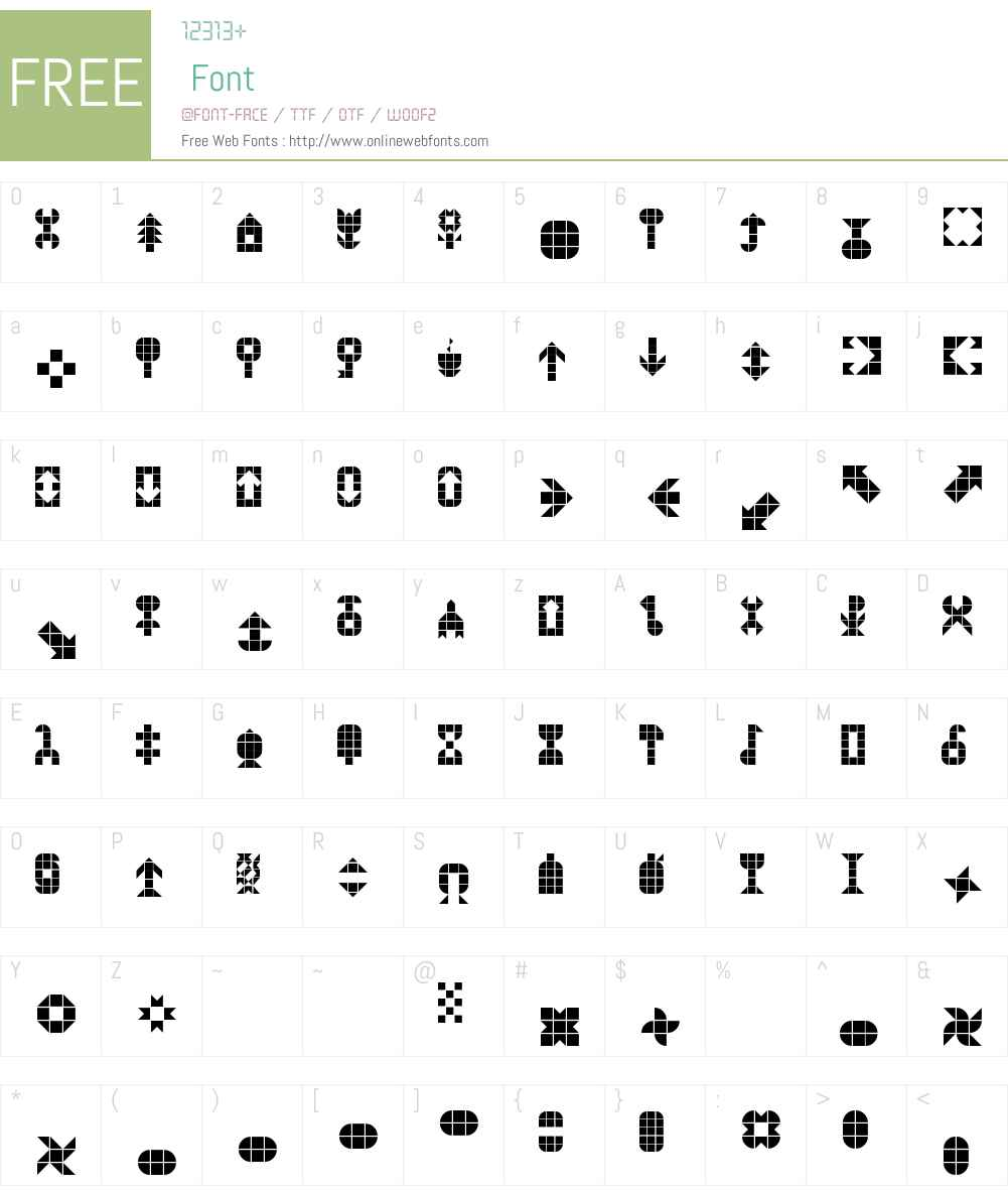 BusPI Font Screenshots