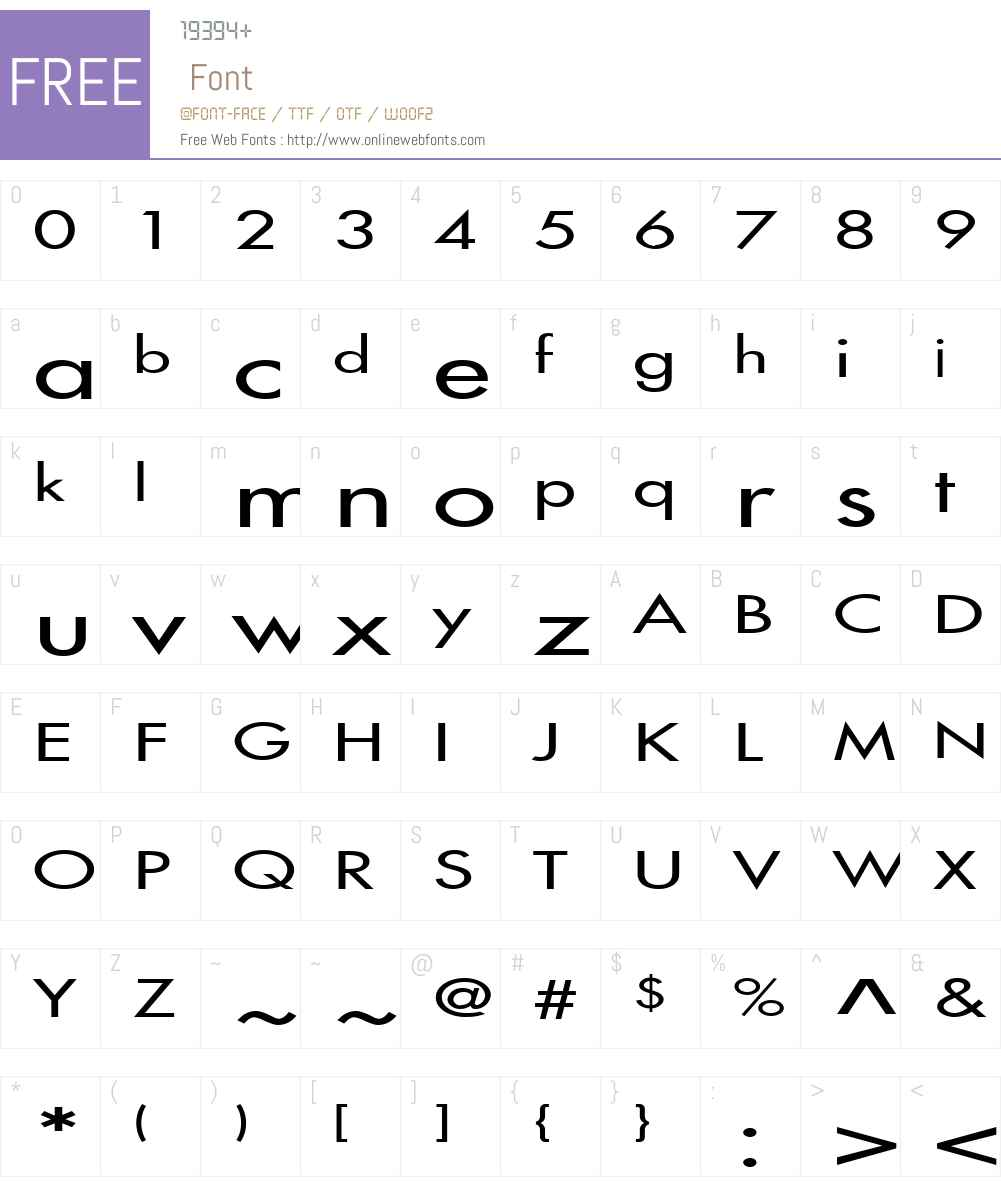 Fusi Extended Font Screenshots