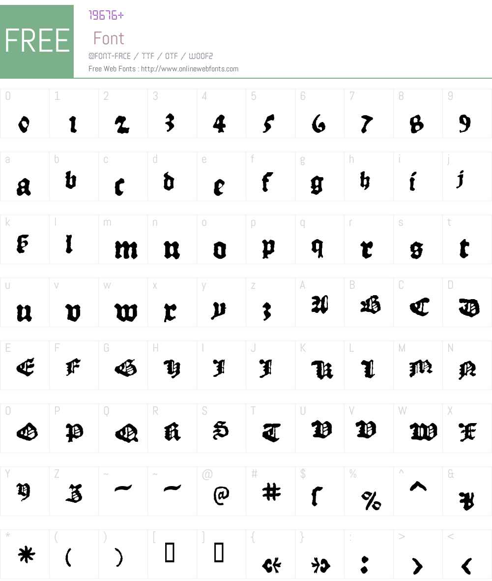 1509_Leyden Font Screenshots