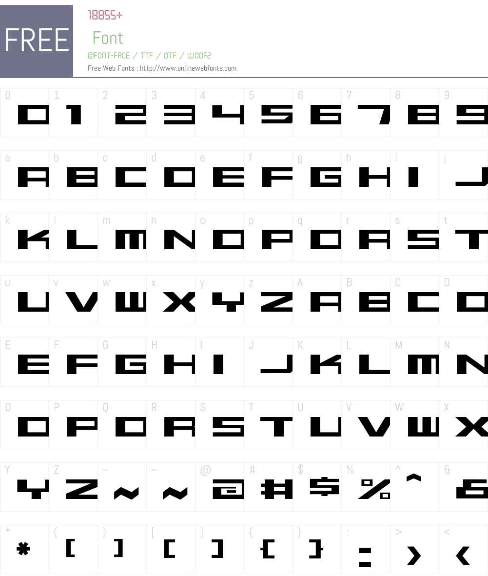 Beekman-SquareLight Font Screenshots