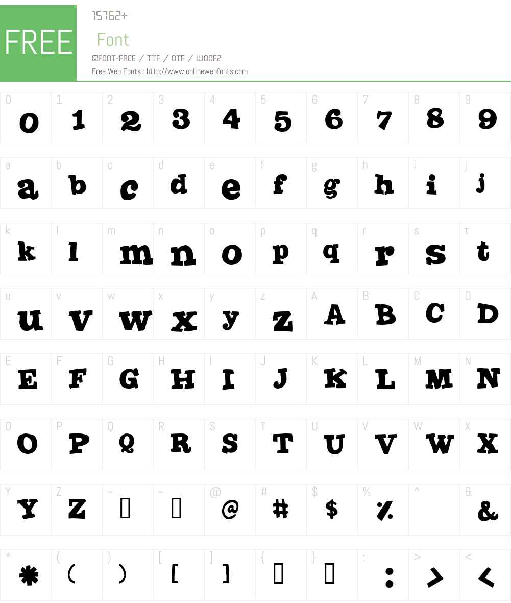 Joint by PizzaDude Font Screenshots