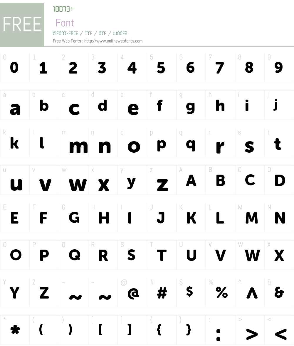 Museo Sans Rounded 900 Font Screenshots