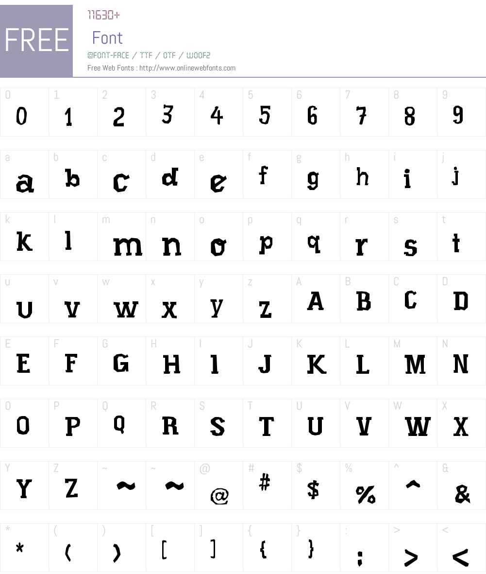 Xilo Prosa Font Screenshots