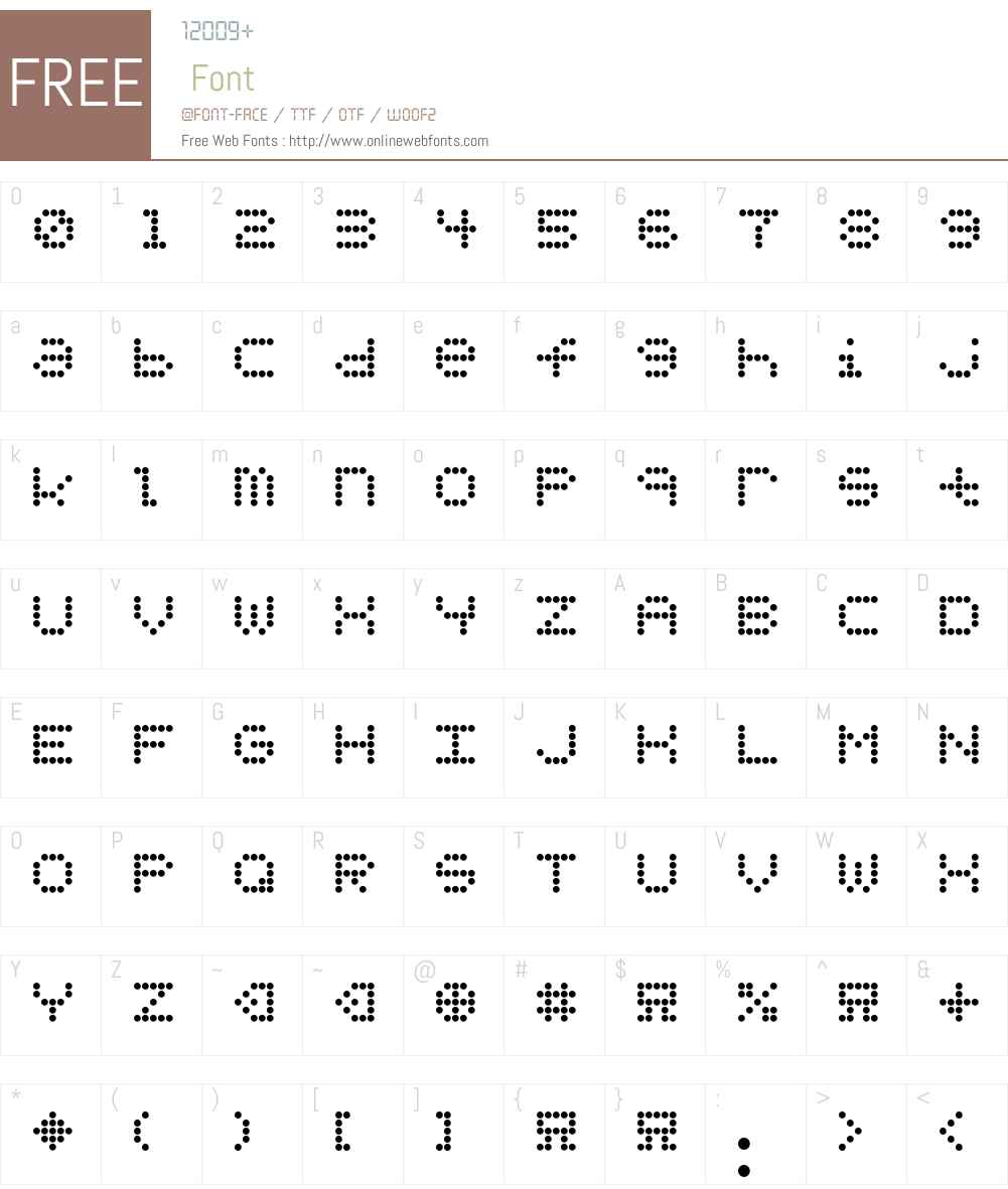 URLYbird Font Screenshots