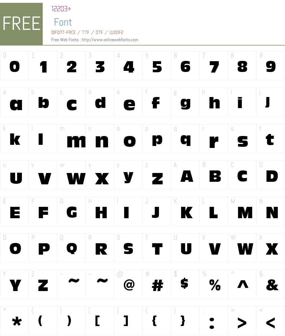 URWAntiqueOliveW01-Compact Font Screenshots
