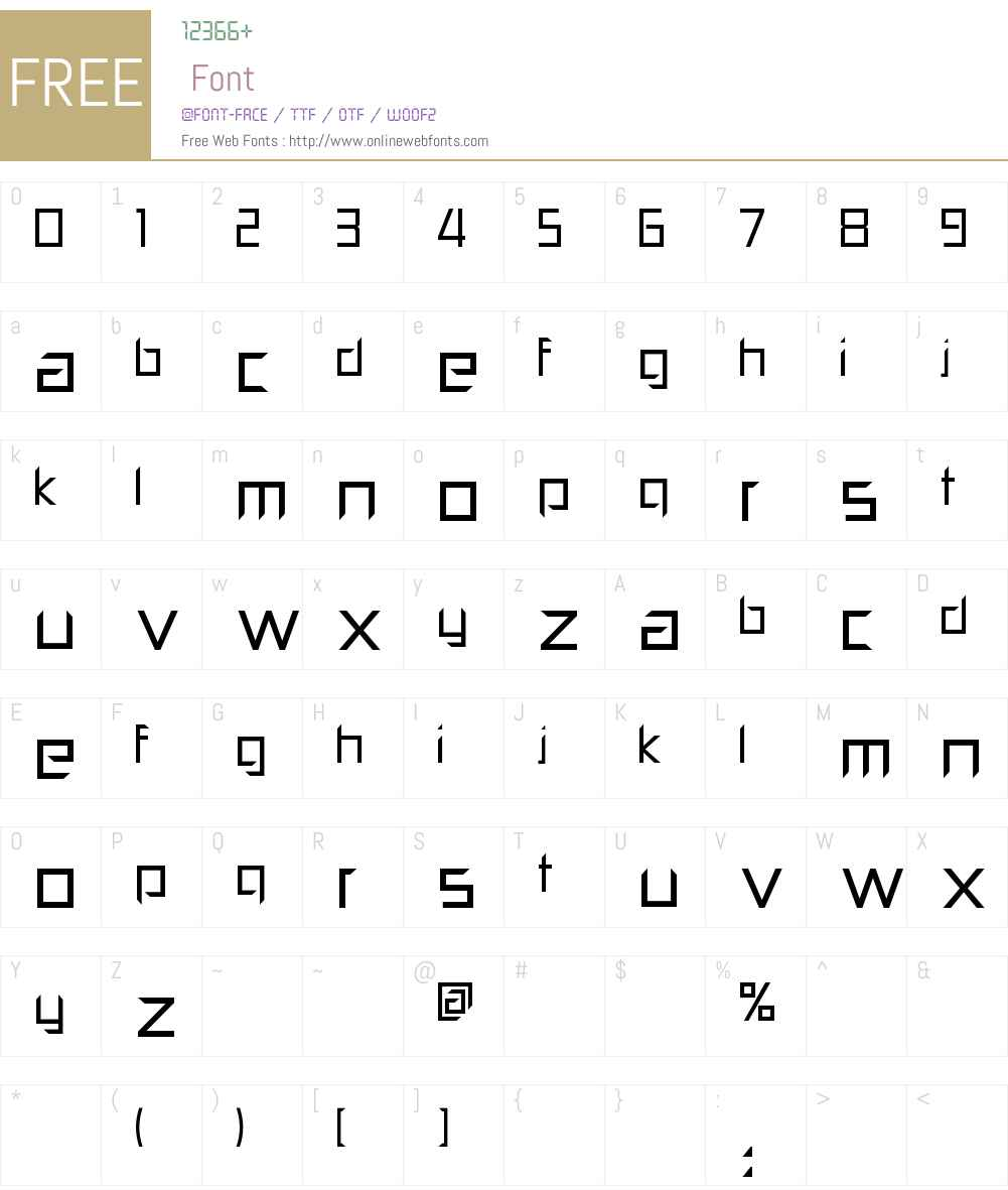 Pill Popper Font Screenshots