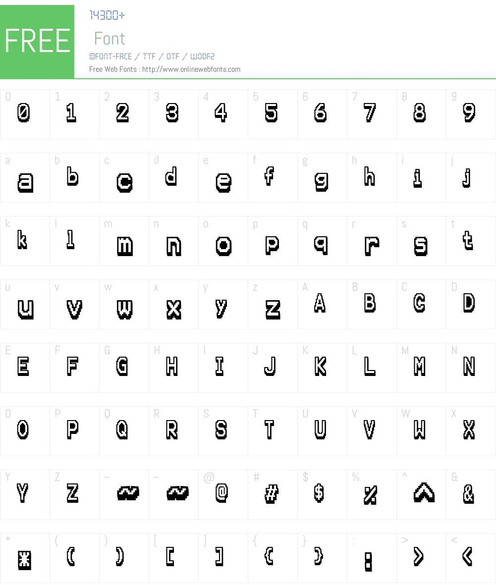 Karma Future Font Screenshots