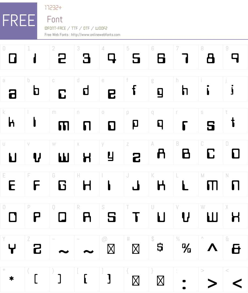 Data Seventy Std Font Screenshots