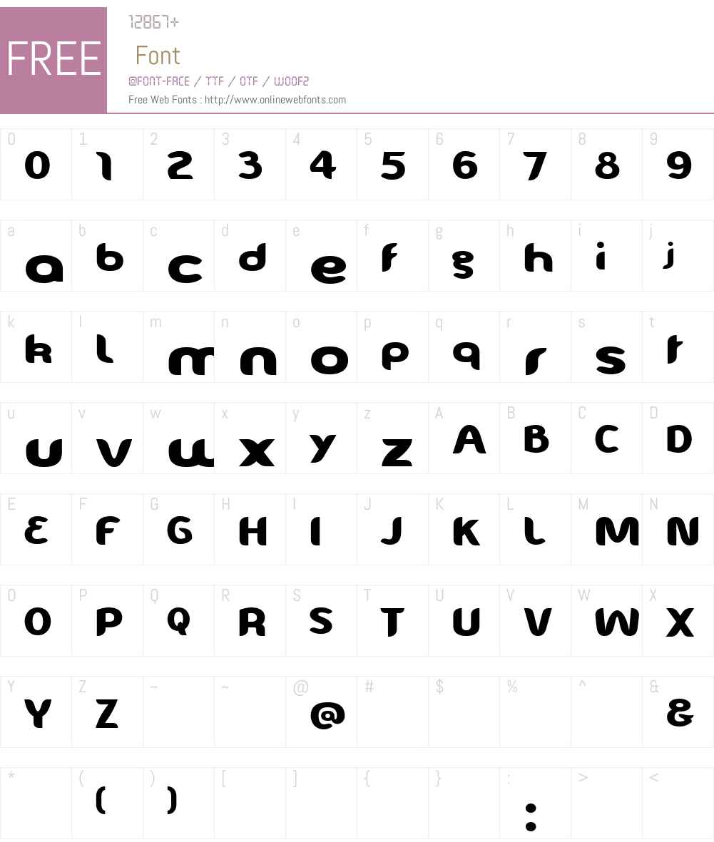 EveIsabelle Font Screenshots