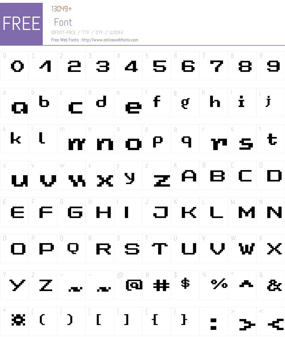 LomoCopy LT Std Medium Font Screenshots