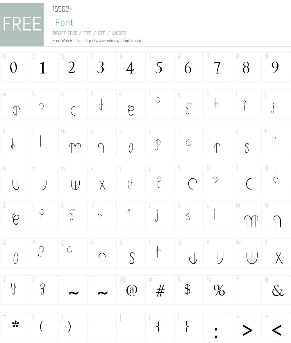 Primitive Alien Font Screenshots