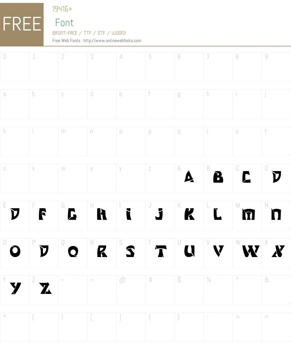 Odishisw Font Screenshots