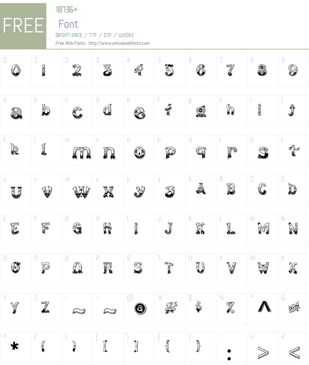 CarnavaleDelight Font Screenshots