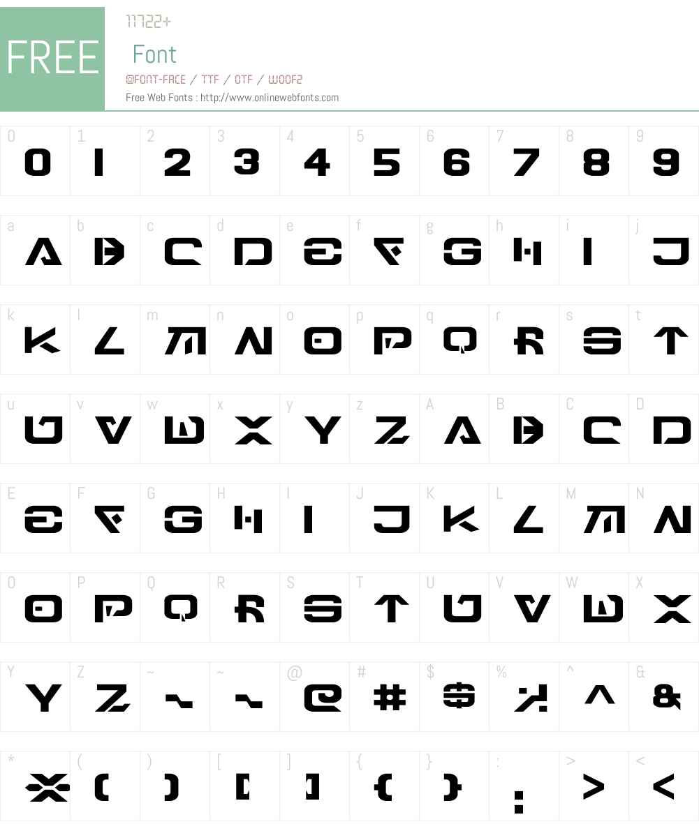 Engli-Besh Font Screenshots