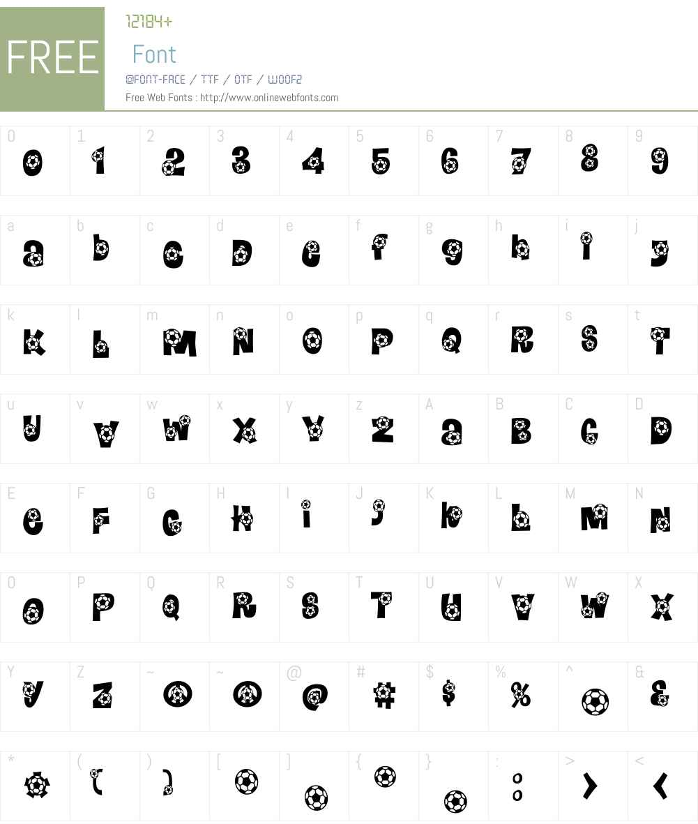 Bend It Font Screenshots