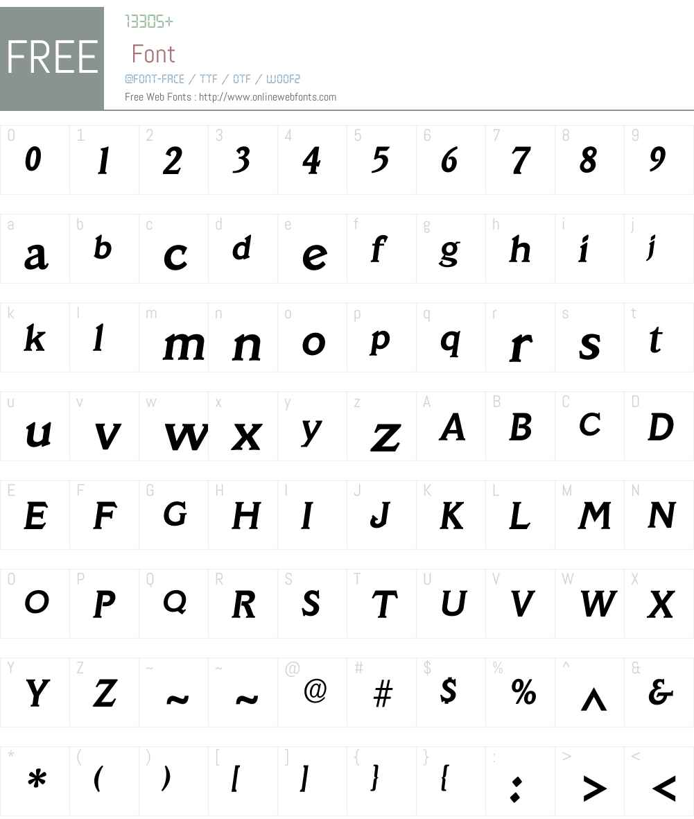 Iveracruz Font Screenshots