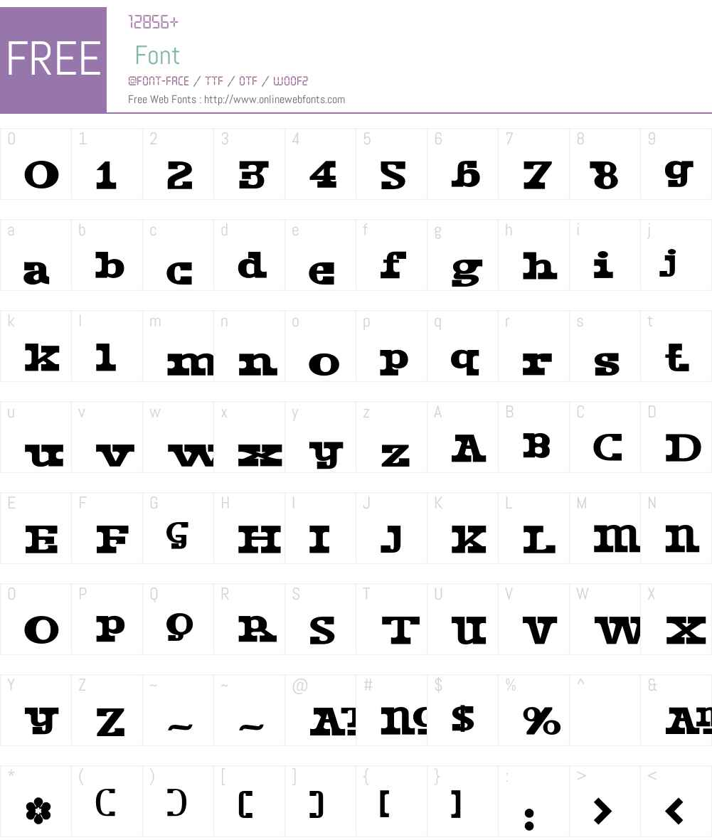 DustPiece Font Screenshots