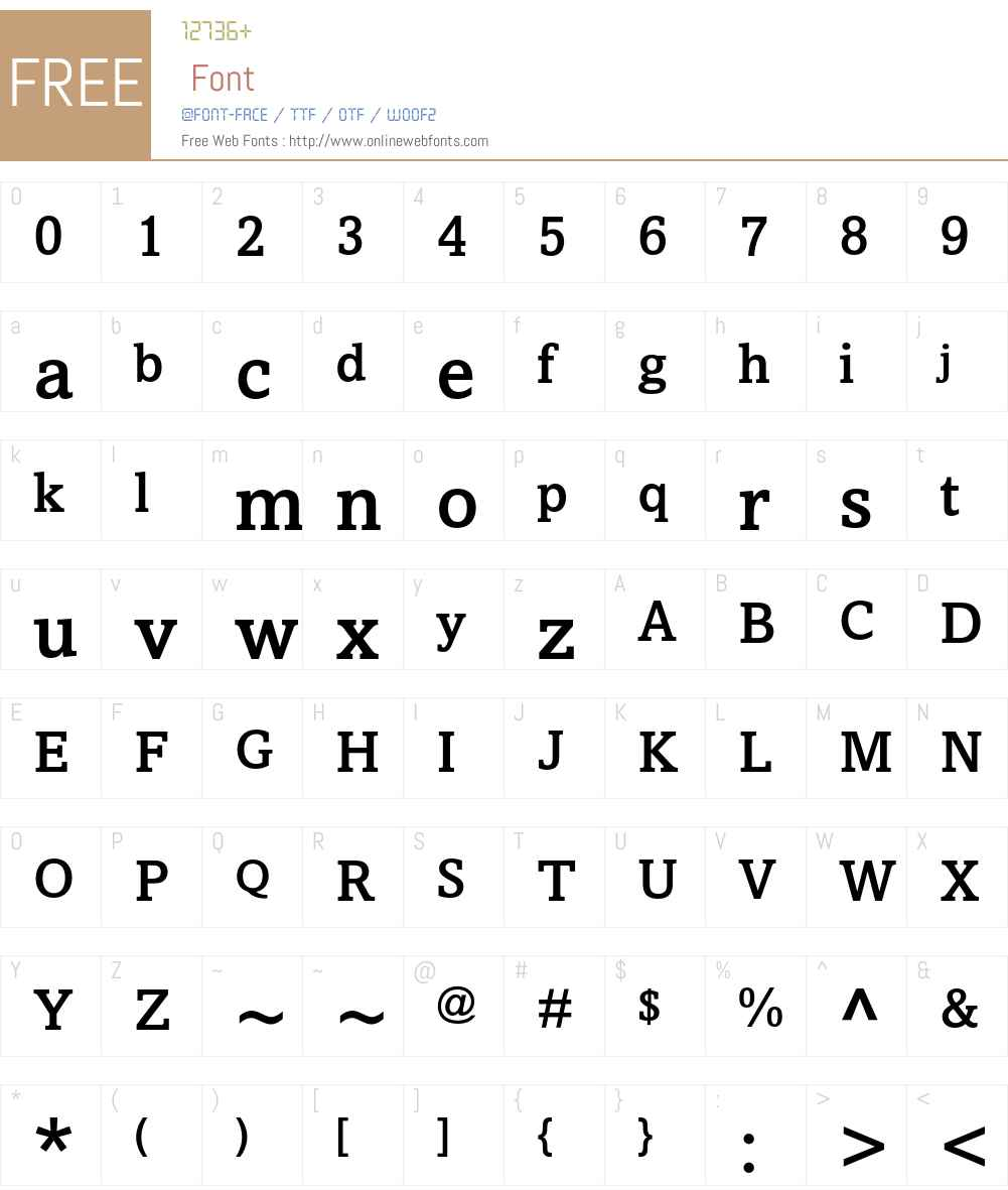 Amasis MT Std Medium Font Screenshots