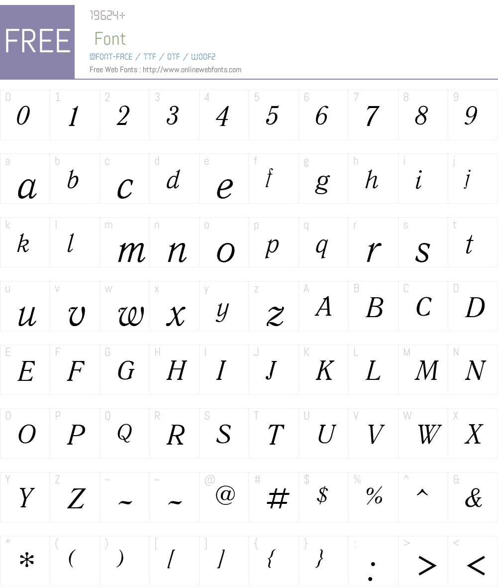 Quant Antiqua Font Screenshots