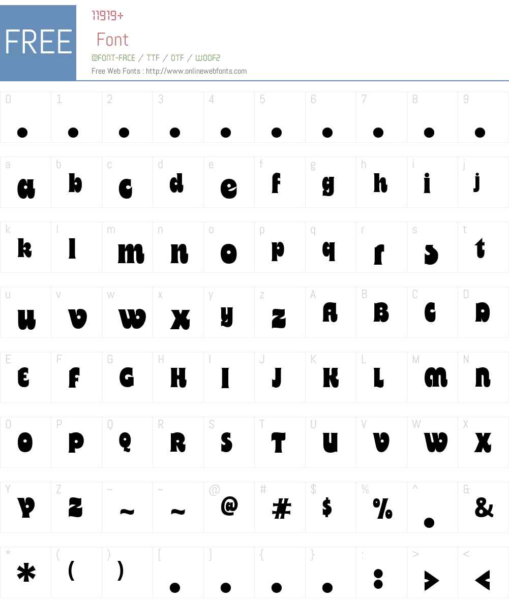 MotterBregenzW00-Regular Font Screenshots