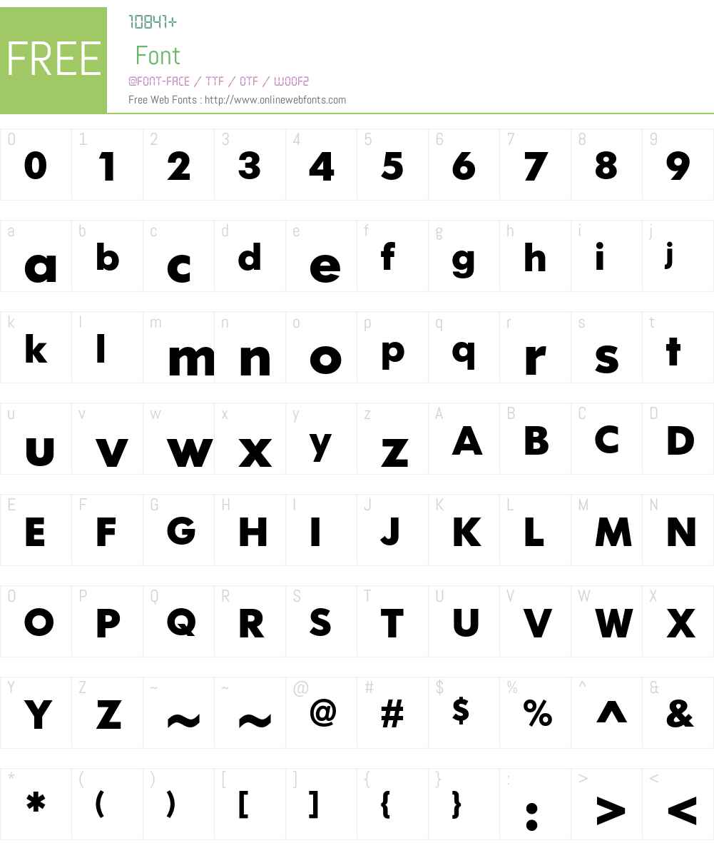 IKEA Sans Font Screenshots