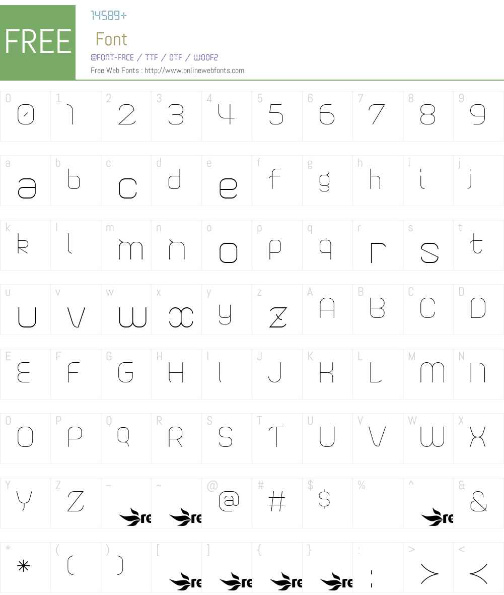 Sweet Confusion Font Screenshots