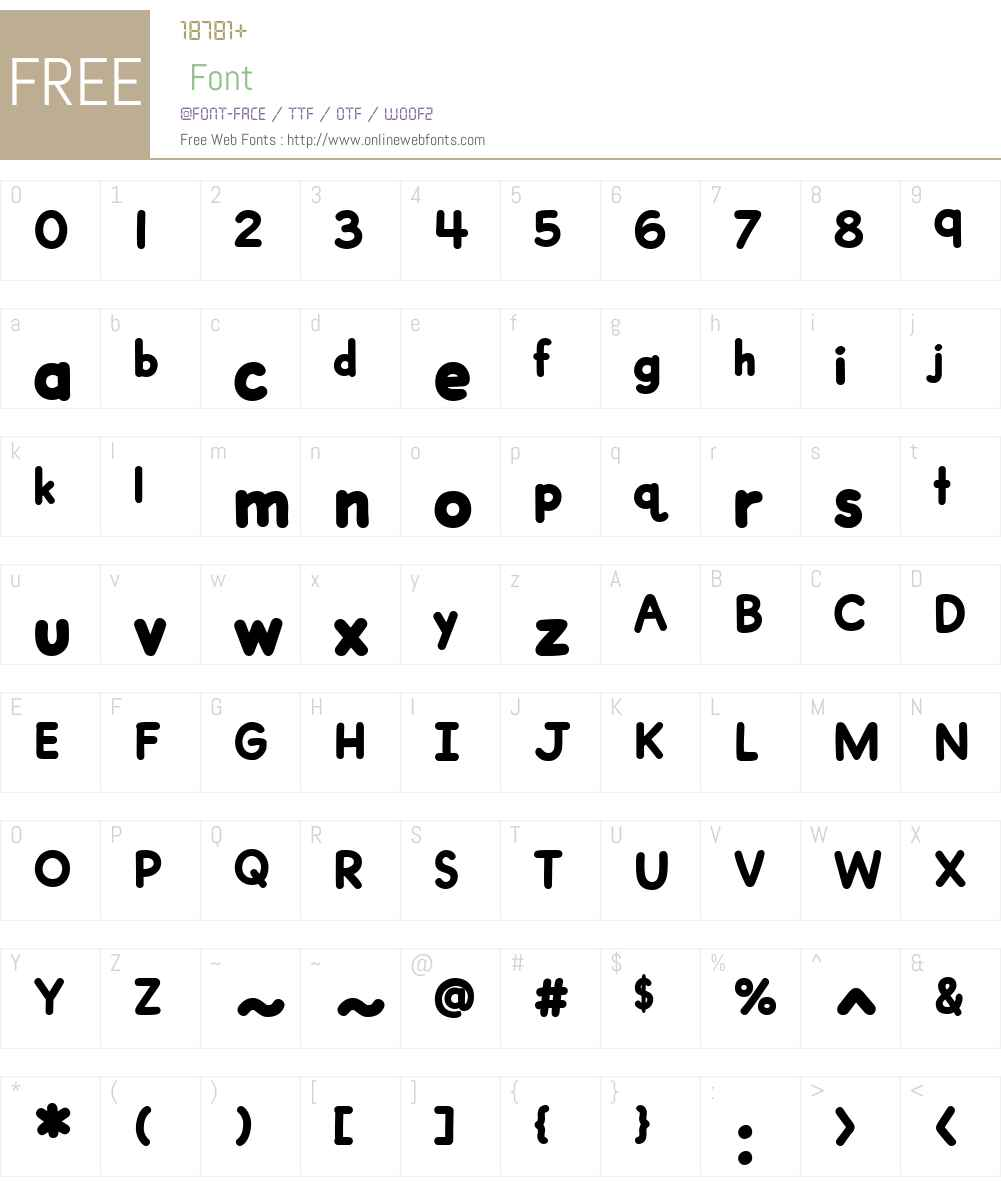 CCDashToSchoolW00-Heavy Font Screenshots