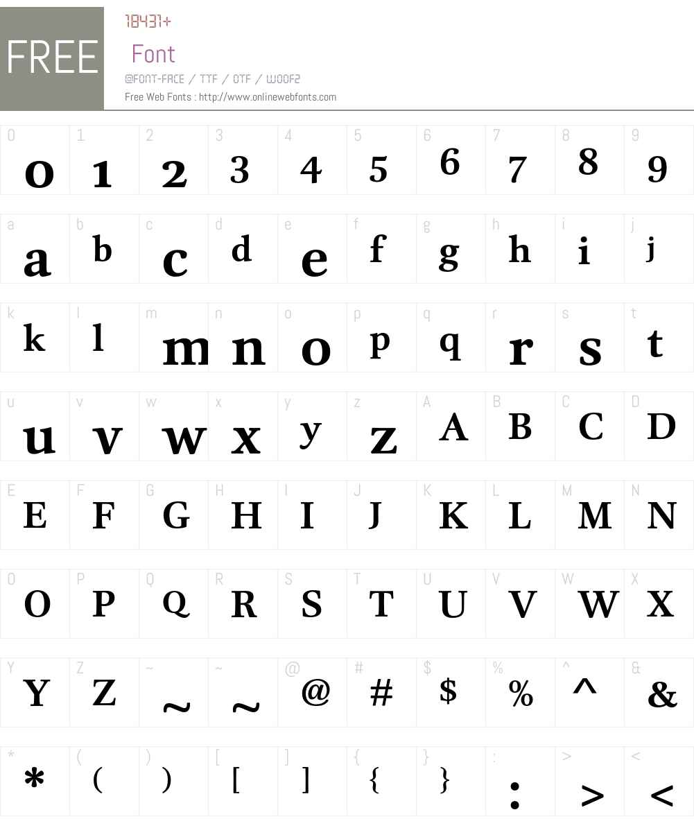 DTLUnicoST Font Screenshots