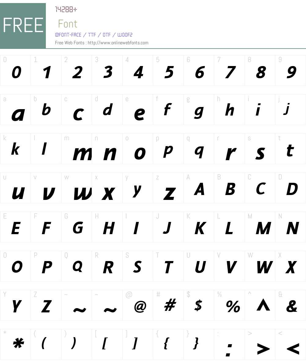 Nautilus Monoline Font Screenshots