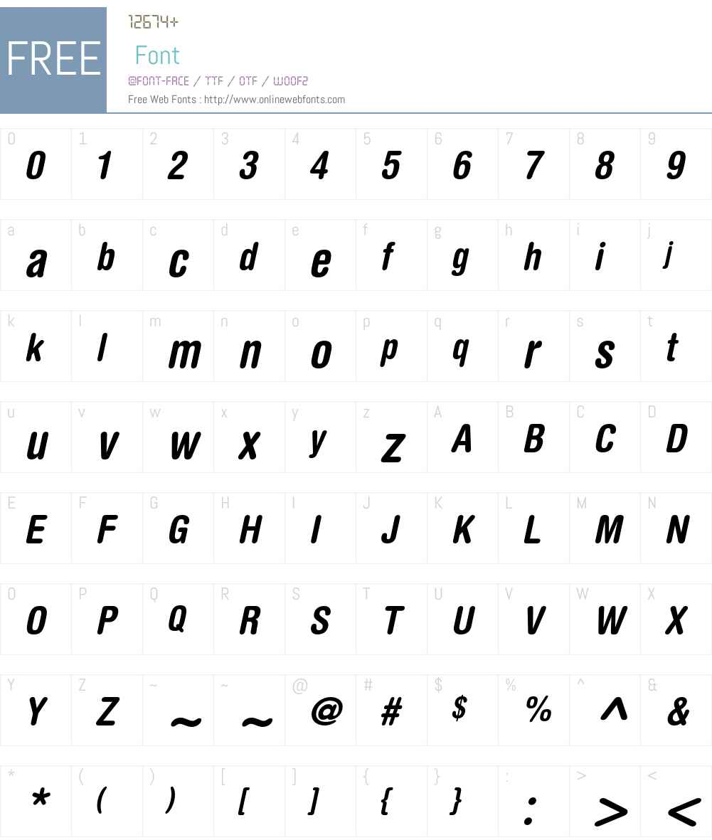 Helvetica Rounded LT Font Screenshots