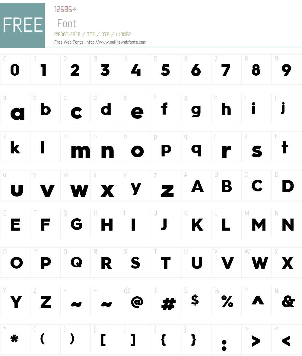 Hurme Geometric Sans No.3 Font Screenshots
