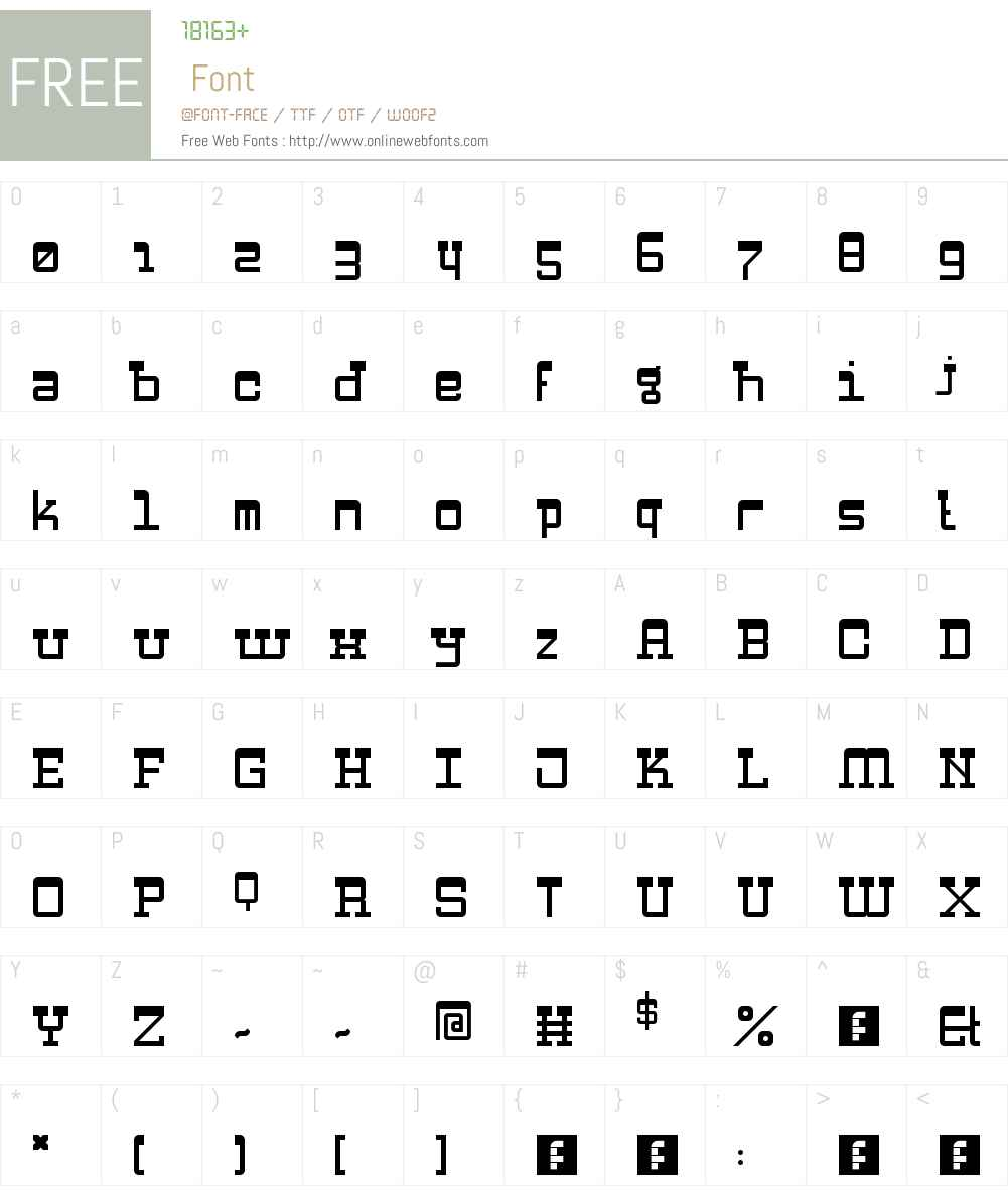 Zapadni Font Screenshots