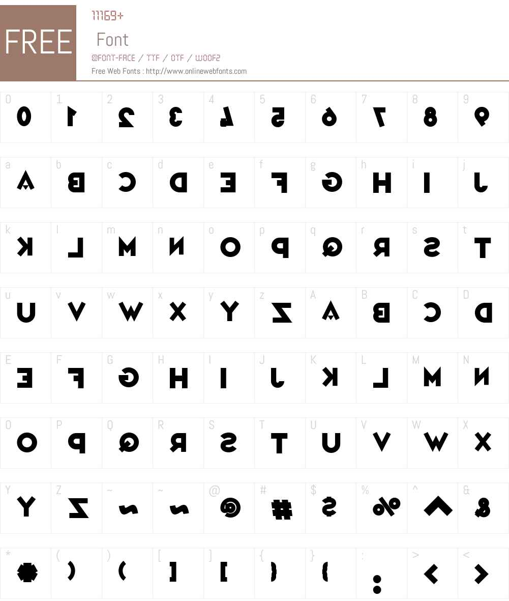 Variet Mirage Font Screenshots
