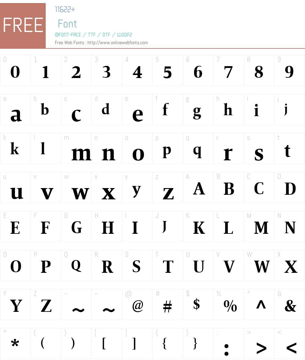 Mangan Nova Font Screenshots