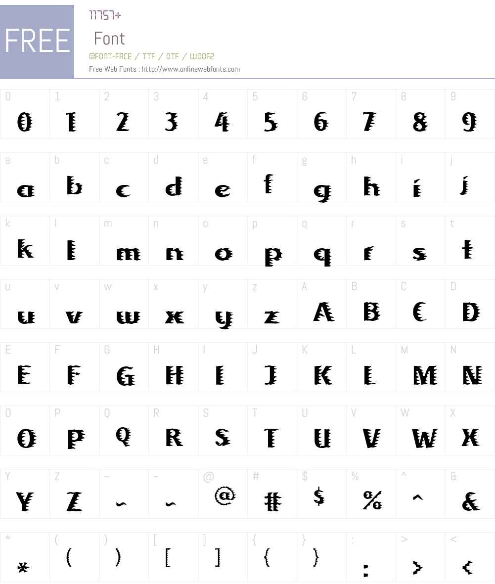 Linotype Albafire Font Screenshots