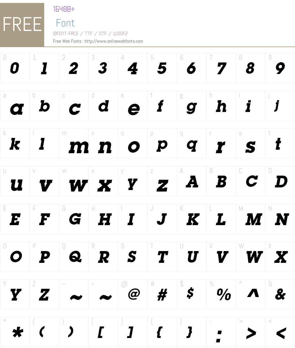 ITC Lubalin Graph Std Font Screenshots