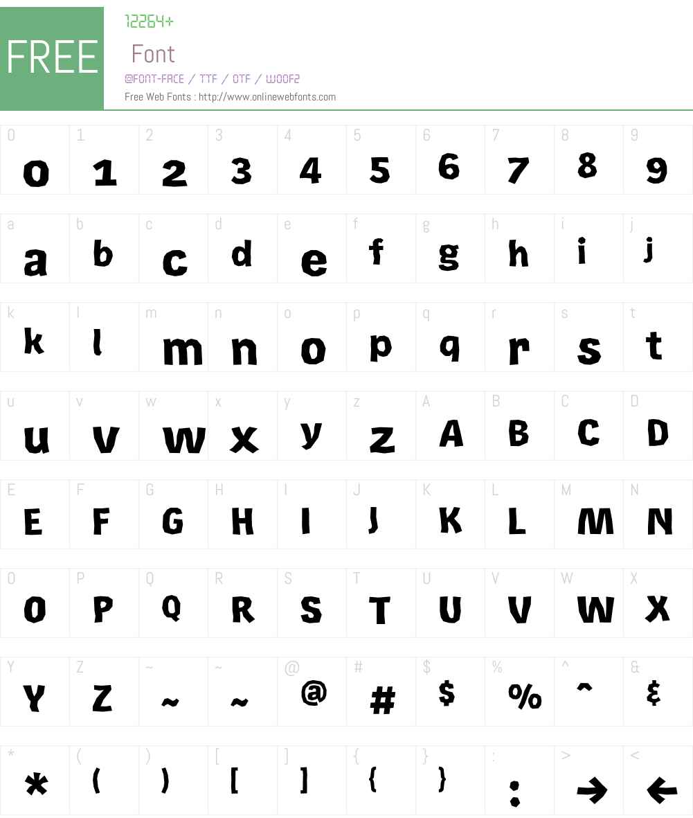 Rekord Font Screenshots